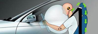 aveo activo 5 puertas airbag