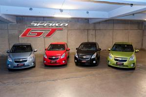 chevrolet spark gama de color