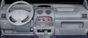 interior del Renault Twingo