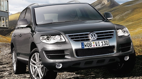 Touareg Volkswagen negro