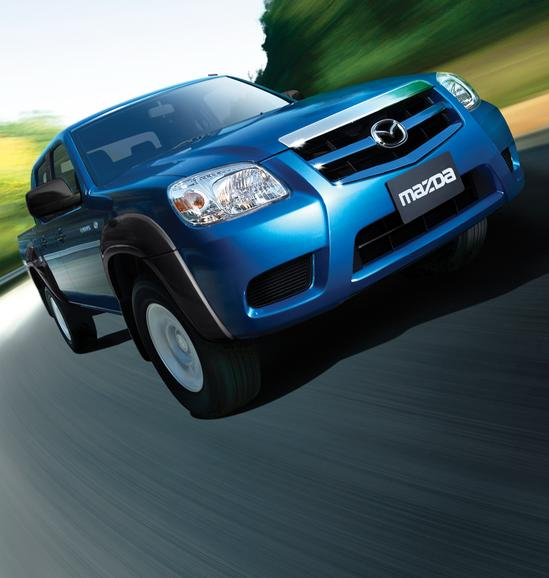 Mazda BT50 azul