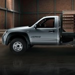 Mazda BT50 4x2 el habitáculo es un complemento de la carrocería