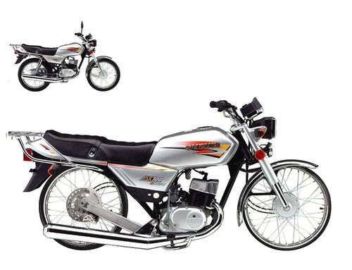 Suzuki AX 100 Perfil