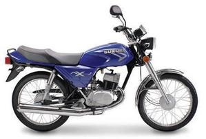 Suzuki AX 100 azul