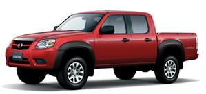 Mazda BT50 roja