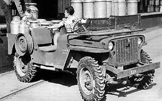 Jeep Willys CJ-1