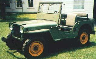 Jeep Willys CJ-2