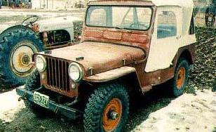 JEEP WILLYS 1949-1953