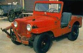 JEEP WILLYS 1950