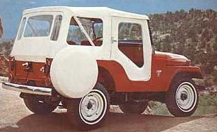 JEEP WILLYS 1964-1967
