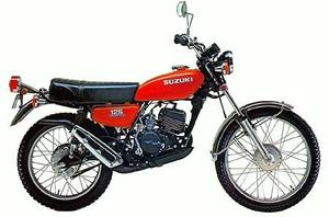 Suzuki TS125 1976