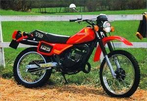 Suzuki TSR 125 1980