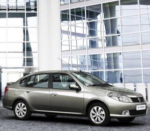 Renault Symbol perfil