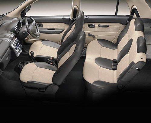 Hyundai Santro vista interiror