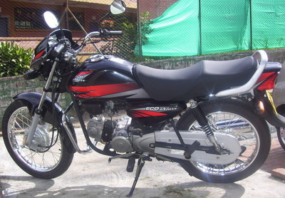 Honda Eco Deluxe negra
