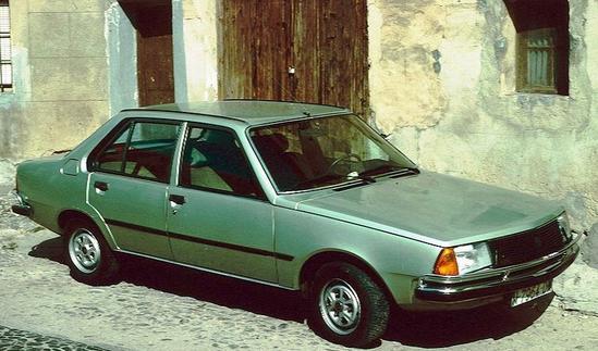 Renault 18 verde