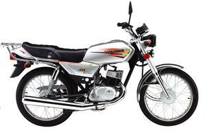 Suzuki AX 100 plateada