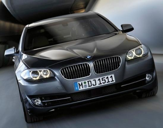 BMW Serie 5 exterior negro