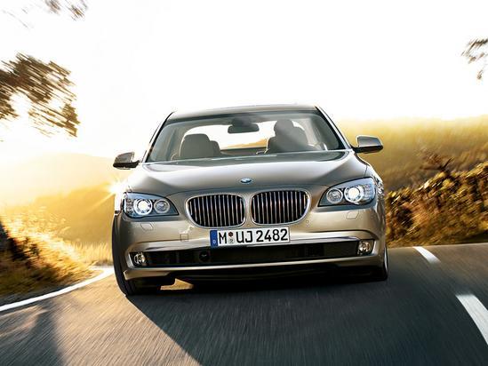 BMW Serie 7 Sedán frente