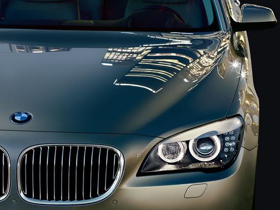 BMW Serie 7 Sedán luces