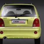 Econotaxi Chery QQ3 trasera