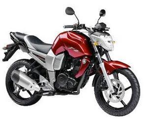 Yamaha FZ 16 rojo