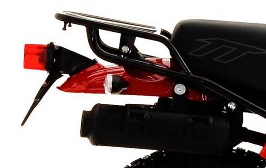 AKT 150 TT parrilla de carga