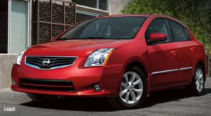 Nissan Sentra 2011 rojo