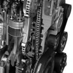 Mazda CX-7 motor detalle
