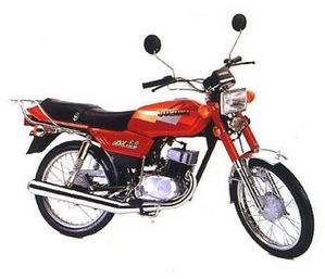 Suzuki AX 100 Rojo