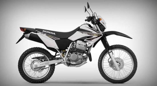 Honda XR Gris