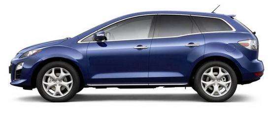 Mazda CX-7 perfil sin fondo