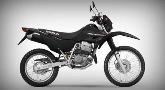 Honda XR negro