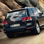 Touareg Volkswagen trasera