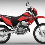 Honda XR rojo