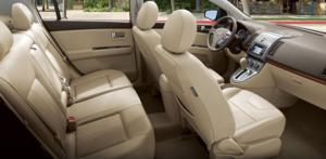 Nissan Sentra 2011 interior