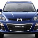 Mazda CX-7 delantera sin fondo