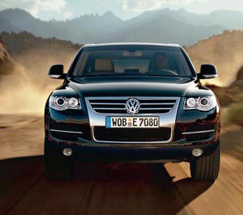 Touareg Volkswagen desierto