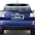 Mazda CX-7 trasera sin fondo