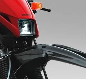 Honda XR detalle faro