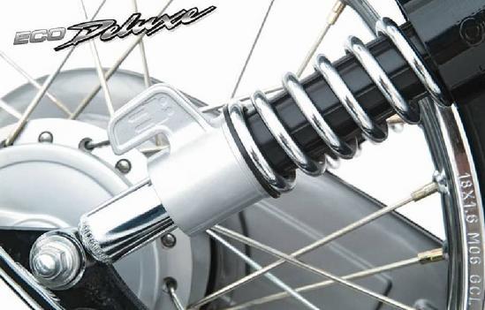 Honda Eco Deluxe suspension