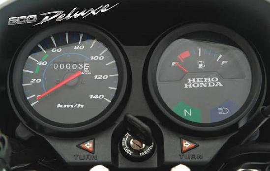 Honda Eco Deluxe tablero