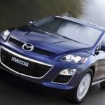 Mazda CX-7 en marcha