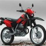 Honda XR vista completa