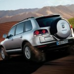 Touareg Volkswagen gris