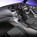 Mazda BT50 interior