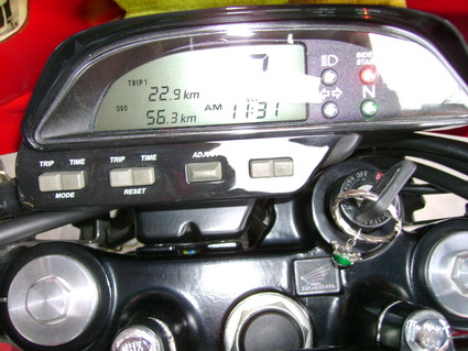 Honda XR tablero digital