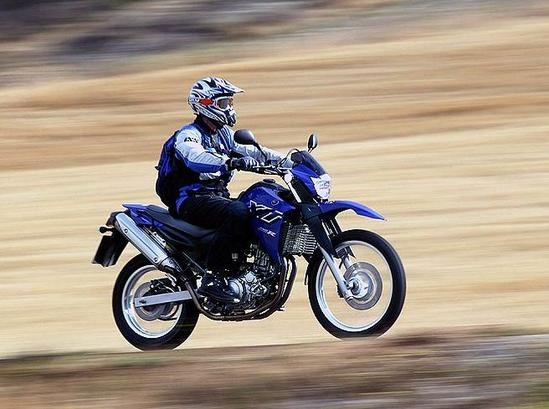 Yamaha XT 660 admirala en accion