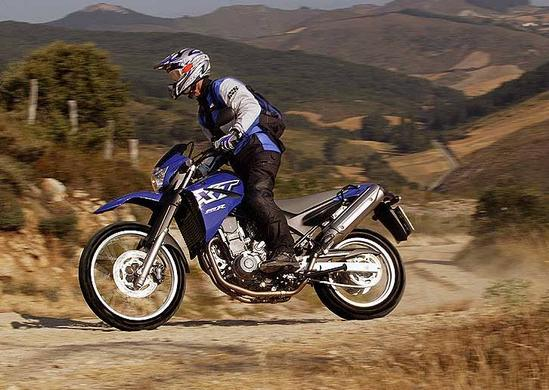 Yamaha XT 660 vive una verdadera aventura
