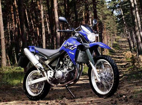 Yamaha XT 660 explora todo tipo de terreno